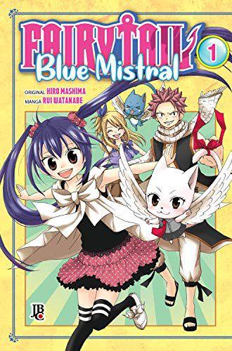 Fairy Tail Blue Mistral - Vol. 1 Capa Brochura  4 novembro 2019