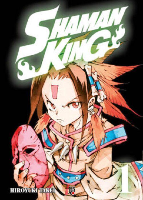 Shaman King 1 - Capa Brochura  15 De Setembro de 2021