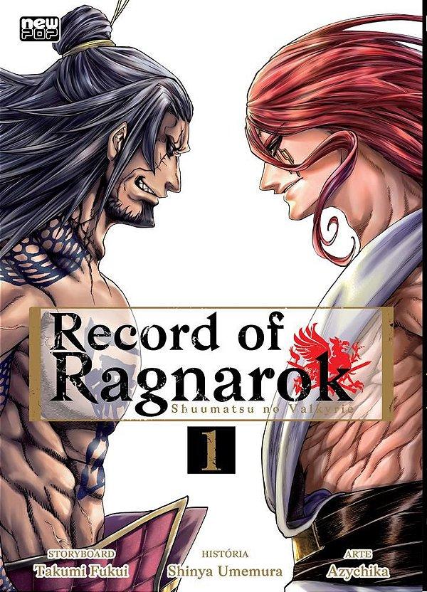 RECORD OF RAGNAROK 1 - NEW POP CAPA BROCHURA 10 DE OUTUBRO 2021