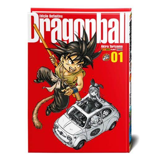 Dragon Ball Capa dura Edição Definitiva Volume 1