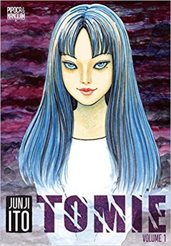 Tomie Volume 1 de 2 Português capa Miolo  19 fevereiro 2021
