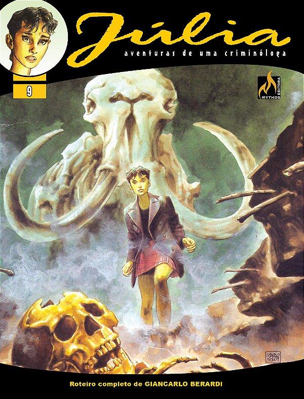 Júlia - Vol. 09 Ecos do passado Português Capa Brochura – 24 de julho de 2020