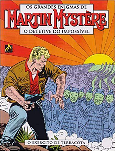 Martin mystère - volume 02  O exército de terracota Português  Capa Brochura   30 de  abril de 2018