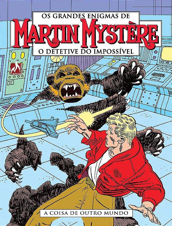 Martin Mystère - volume 03: A coisa de outro mundo - Português Capa Brochura – 25 de março de 2018