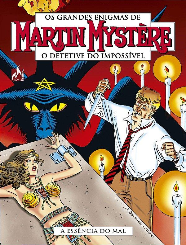 Martin Mystère - volume 06 A essência do mal - Português Capa Brochura – 21 de dezembro de 2018