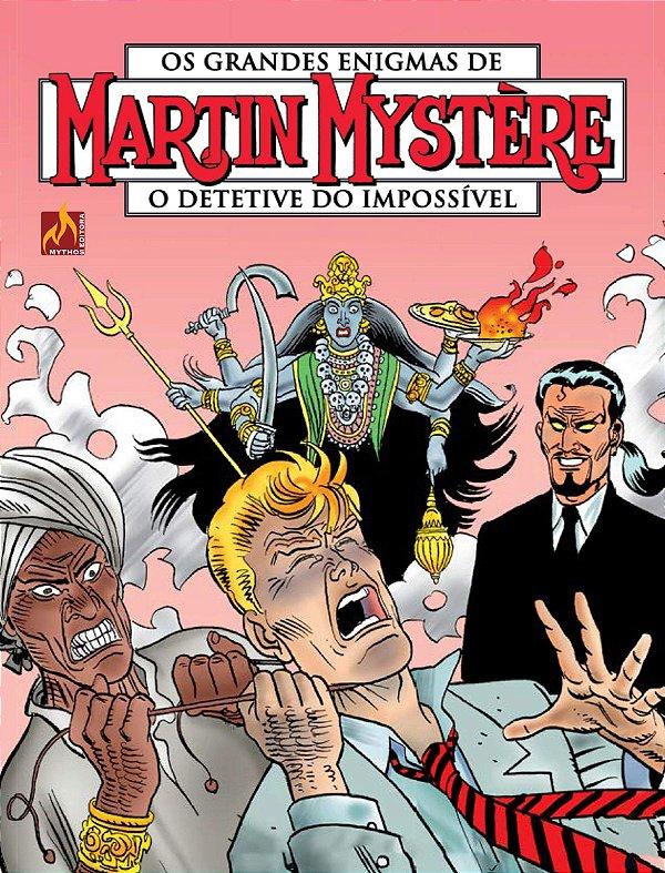 Martin Mystère - volume 10 Os adoradores de Kali (Português) Capa comum – 19 de  julho de 2019