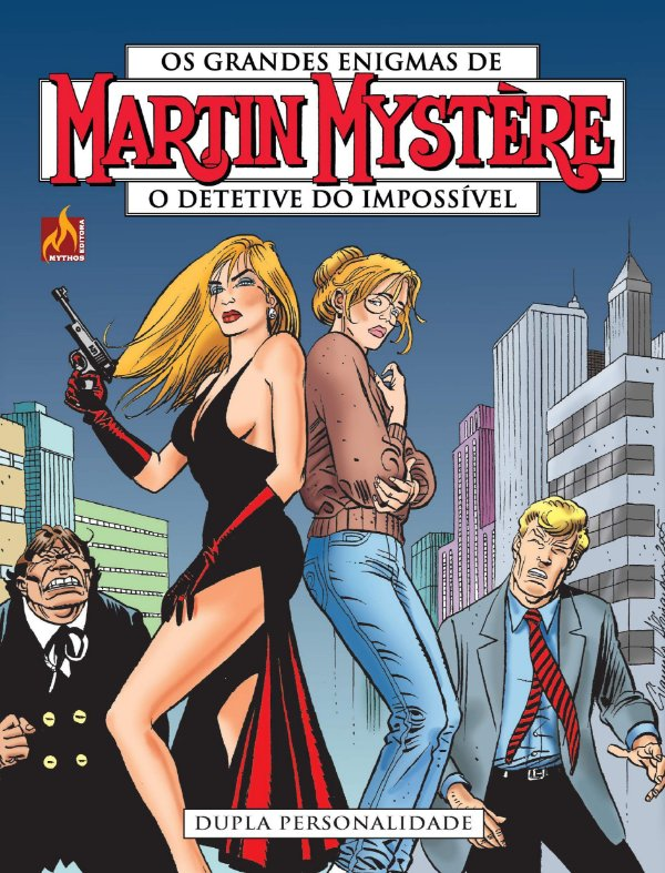 Martin mystère - volume 12 Dupla personalidade - Português Capa Brochura – 11 de outubro de 2019