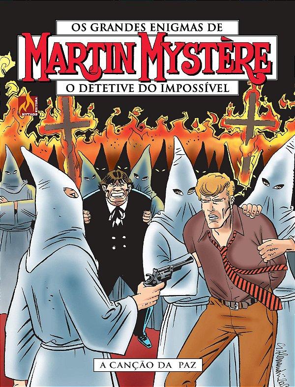 Martin Mystère - volume 17 A canção da paz - Português Capa Brochura – 10 de junho de 2020
