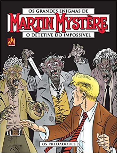 Martin Mystère - volume 18 Os predadores Português Capa Brochura – 10 de julho de 2020