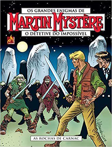 Martin Mystère - volume 19 As rochas de Carnac - Português Capa Brochura – 15 de outubro de 2020