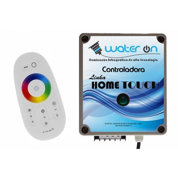 Central de Comando LED RGB Home Touch
