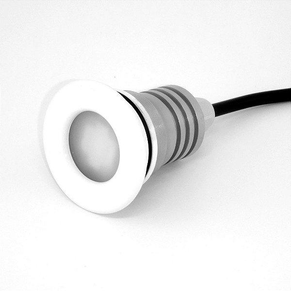 Refletor Home 12W RGB - Acabamento Branco