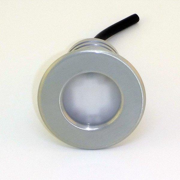 Refletor Home 23W RGB - Acabamento Escovado