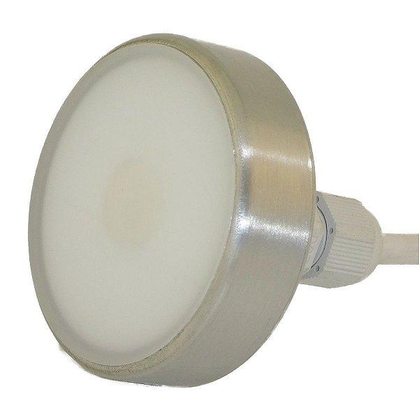 Refletor Home EX 12W RGB - Acabamento Escovado