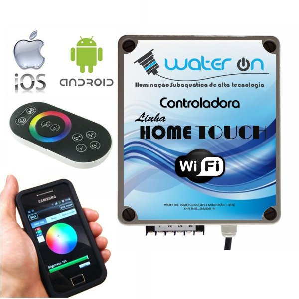 Central de Comando Home Touch WiFi