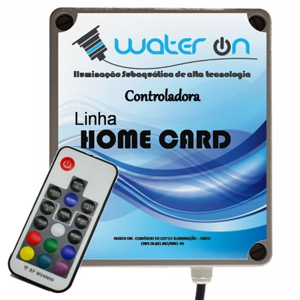 Central de Comando LED RGB Home CARD