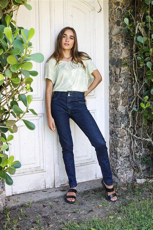 Calça LEGGING  Jeans Escuro - Loopper - K2939663 - LYCRA BEAUTY