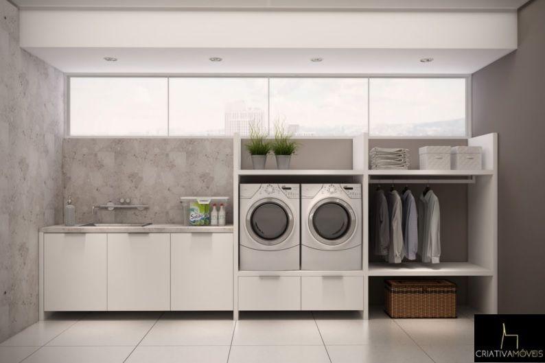 Móveis para Lavandeira planejados e sob medidas para o melhor aproveitamento do seu espaço.
