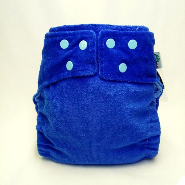 Fralda Plush Azul