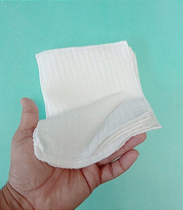 5 lenços de limpeza