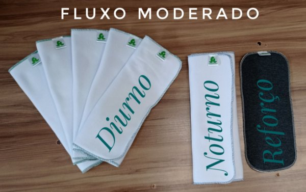 Kit Fluxo Moderado 24hs