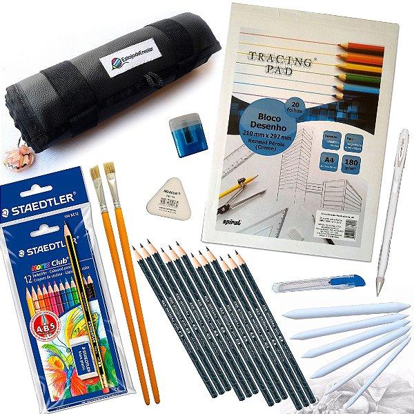 Kit para Desenhar e colorir
