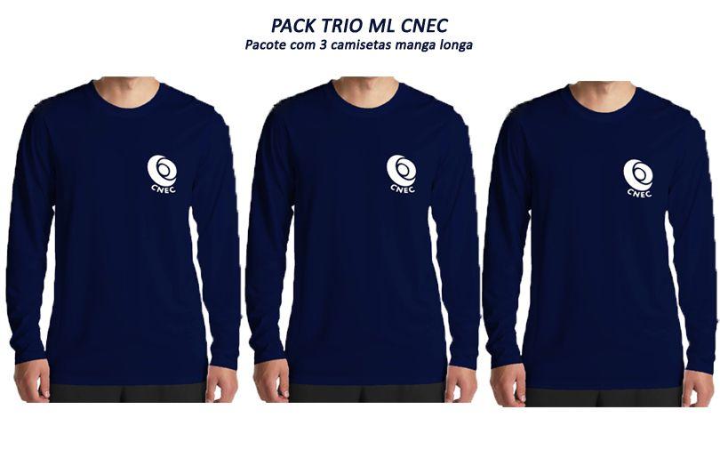 PACK TRIO ML CNEC (3 camisetas manga longa)