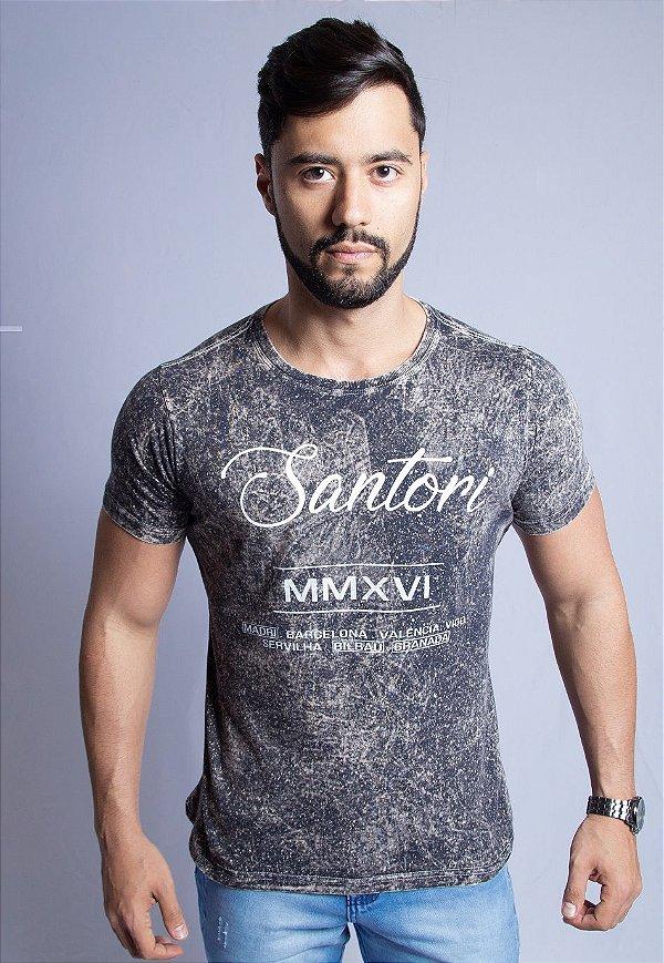 T-SHIRT SANTORI RIVER - PROMOÇÃO