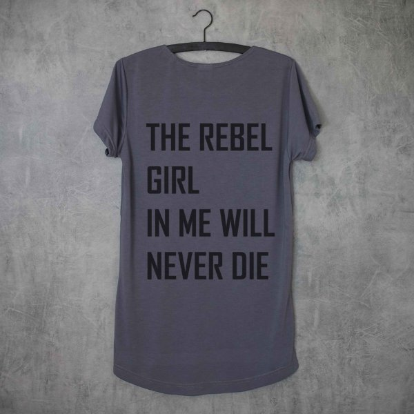 REBEL GIRL - LONG TEE