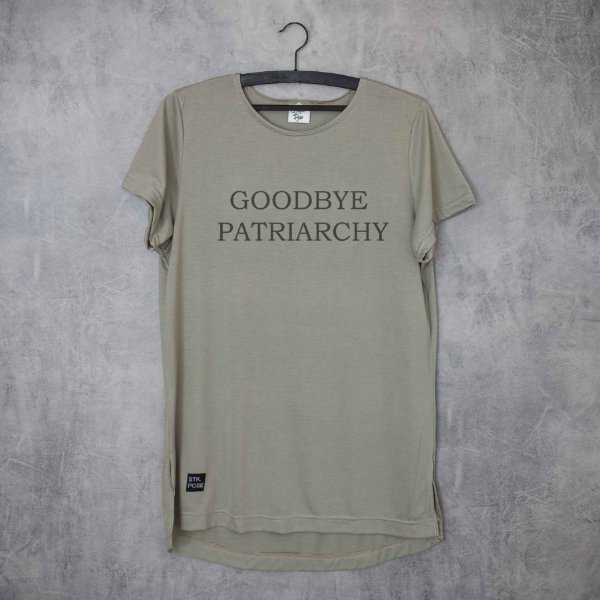 GOODBYE PATRIARCHY - LONG TEE
