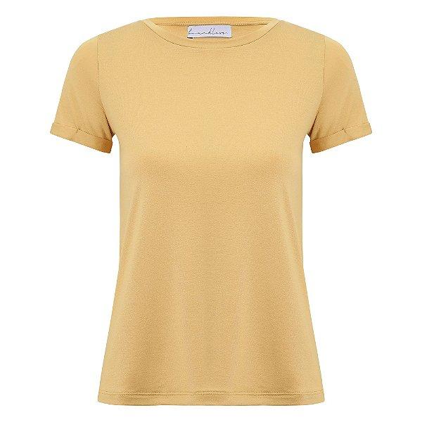 T-Shirt Gola C Modal Mostarda