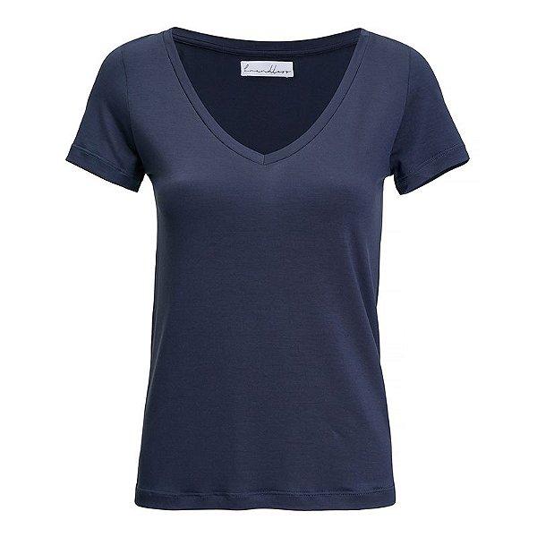 T-Shirt Gola V Modal Navy