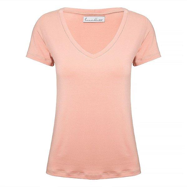 T-Shirt Gola V Modal Blush