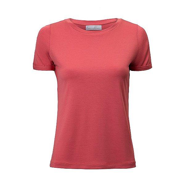 T-Shirt Gola C Modal Rosa Goiaba