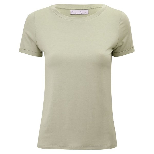 T-Shirt Modal Gola C Avocado