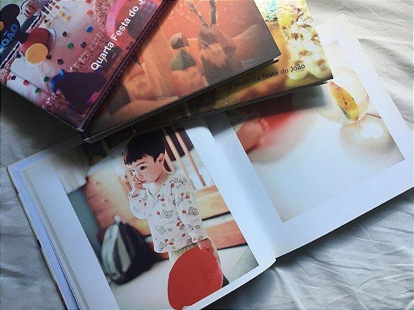 Album de Fotos - Diagramação + Impressão - 50 páginas - Tamanho 21 x 21 cm