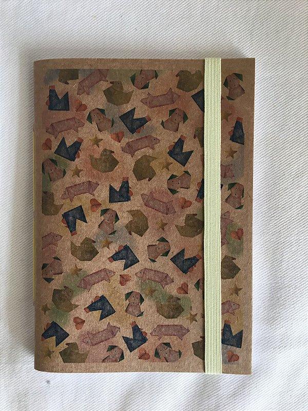 Caderninho - Coleção Isa Amado para Tudo Conta Umma Historia - ORIGAMI - tamanho 14 x 10 cm