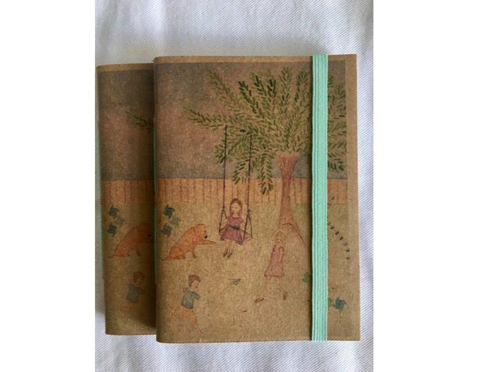 Caderninho - Coleção Isa Amado para Tudo Conta Umma Historia - BRINCADEIRAS DA INFÂNCIA - tamanho 14 x 10 cm
