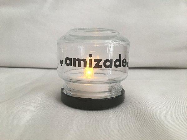 Mini Luminária de Led (6 cm) - AMIZADE (1 unidade)
