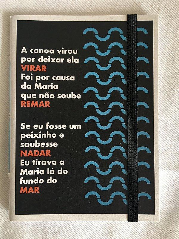 Caderninho - As Parlendas - A CANOA VIROU