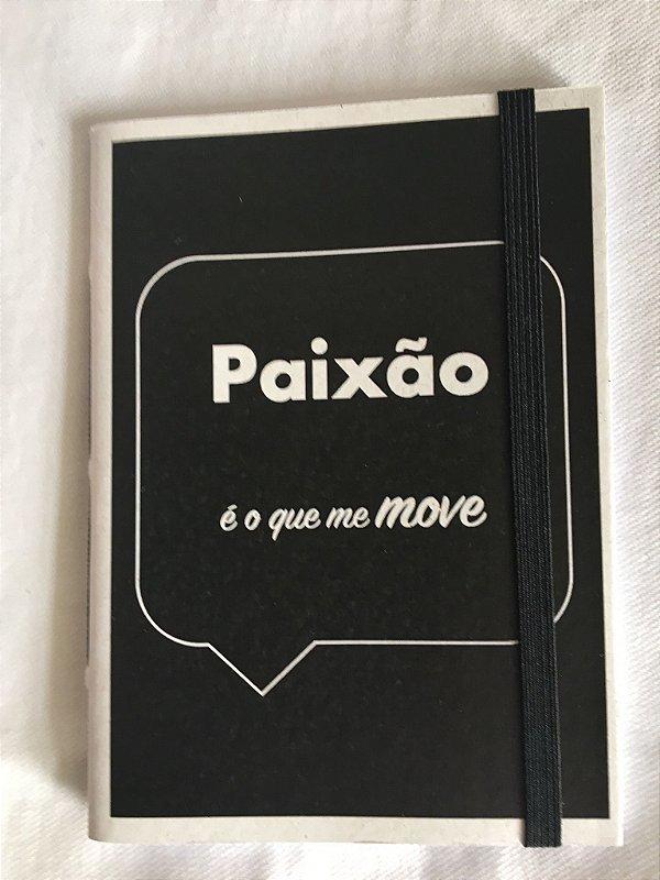 Caderninho - Coleção Os Sentimentos - PAIXÃO