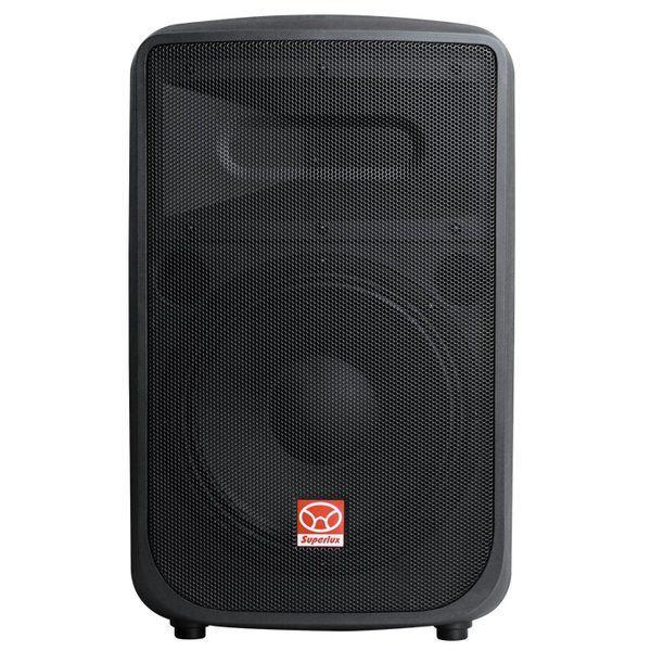 Caixa Som Ativa Amplificada 220v Superlux Sf12a 400w