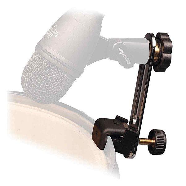 Suporte Microfone Bumbo Surdo Zabumba Superlux Dmc03