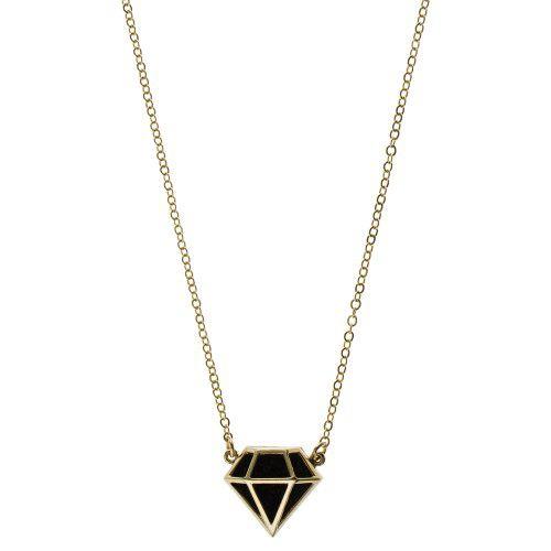 Colar Diamante Negro