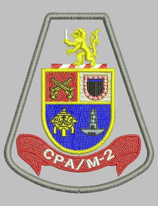 BRASÃO CPA/M-2 - Comando de Policiamento de Área Região Dois - Zona Sudoeste