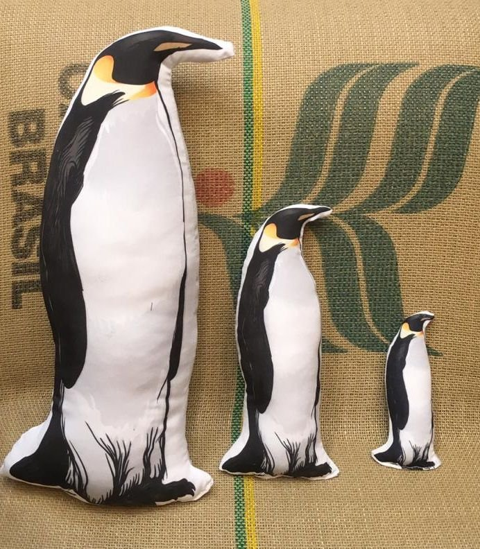 Almofada Ecológica Pinguim - Van Ray