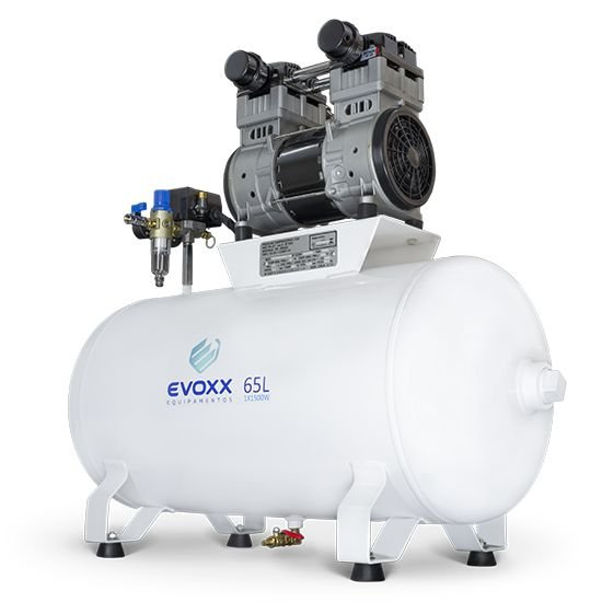Compressor Odontológico Evoxx | 65L 2,0 HP
