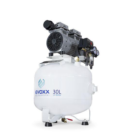 Compressor Odontológico 30L 1,14 HP - Evoxx