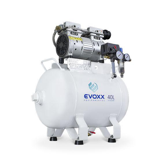 Compressor Odontológico 40L 1,14 HP - Evoxx
