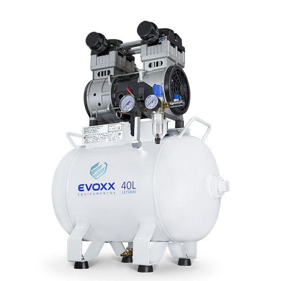 Compressor Odontológico 40L 2 HP - Evoxx